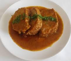 La receta olímpica: Lomo de cerdo en salsa