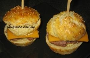Minis hamburgers