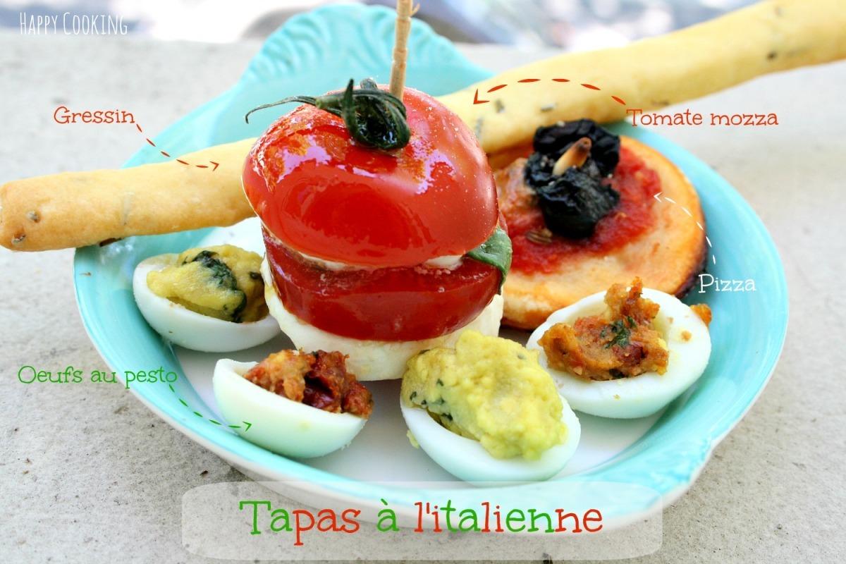 Tapas à l'italienne {Battle Food#21}