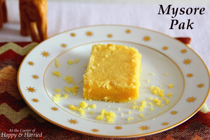 Mysore Pak: An Utterly Delicious Indian Sweet Treat