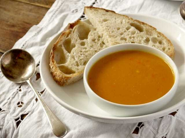 Superfood Soups ~ Curried Sweet Potato and Red Pepper