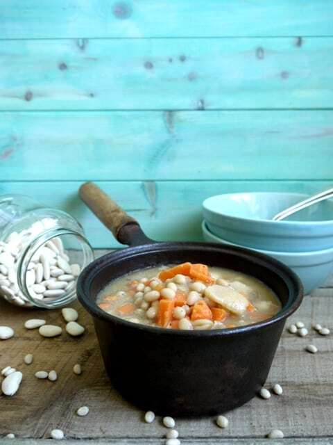 Guernsey Bean Jar in the Slow Cooker