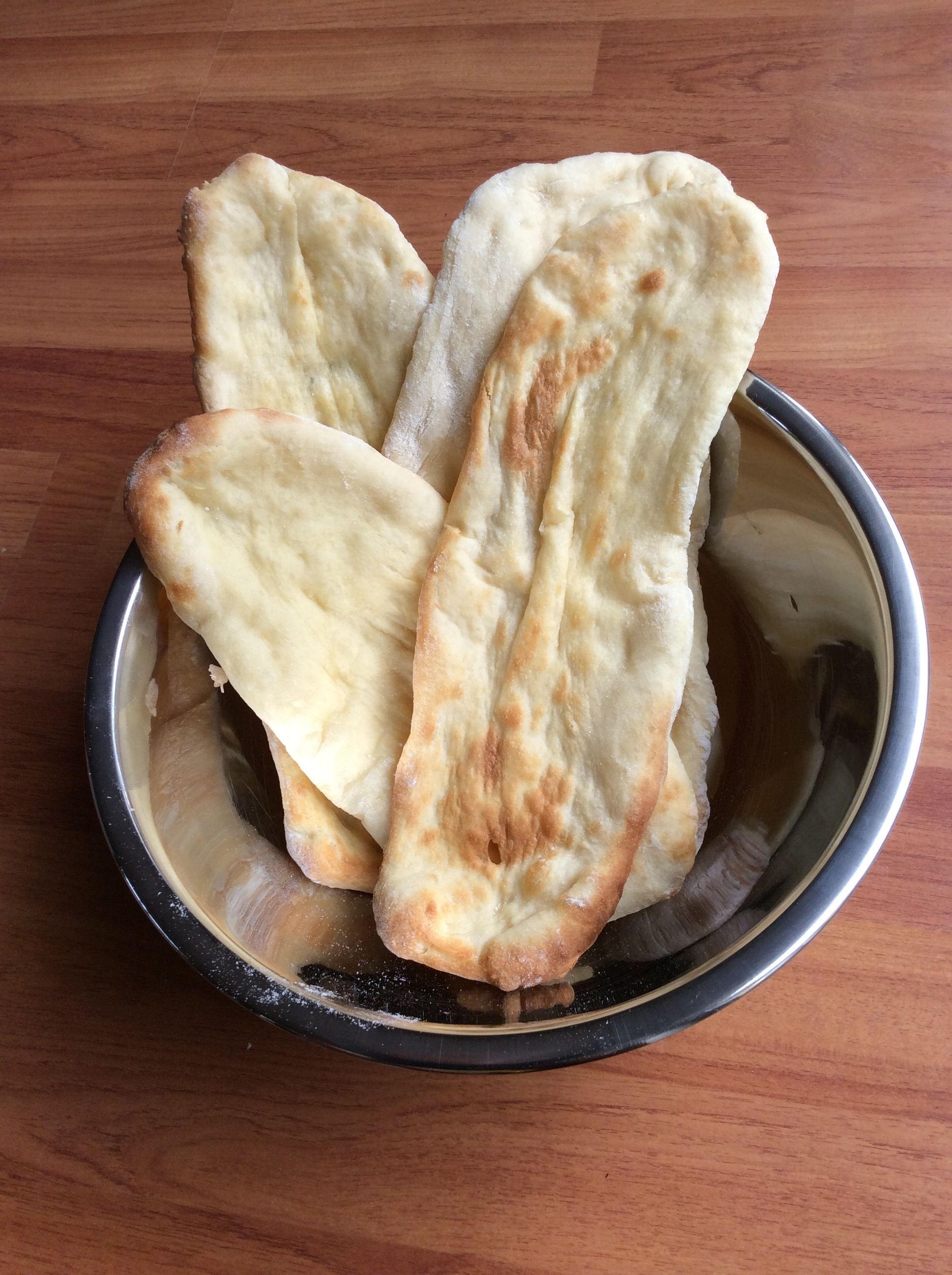 naan bread without yogurt