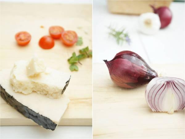 Ensalada tibia de lentejas y verduras