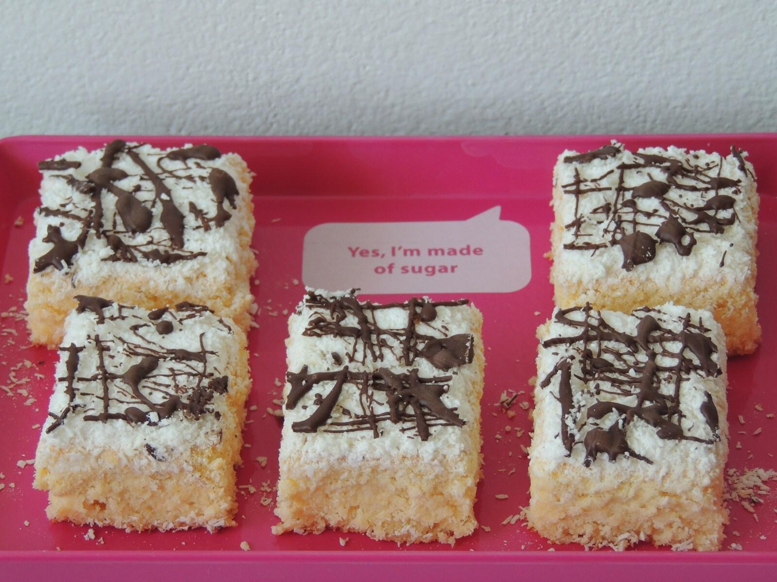Osviežujúci citrónovo – kokosový koláčik