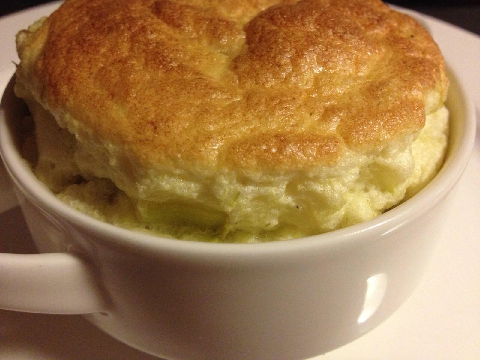 Soufflé Camembert Poireau Pomme de terre