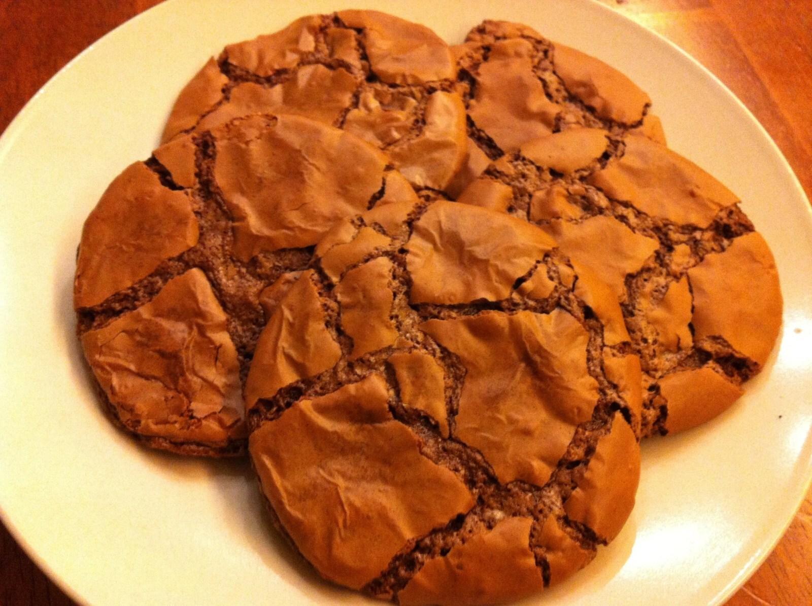 Glutenfrie brownie cookies