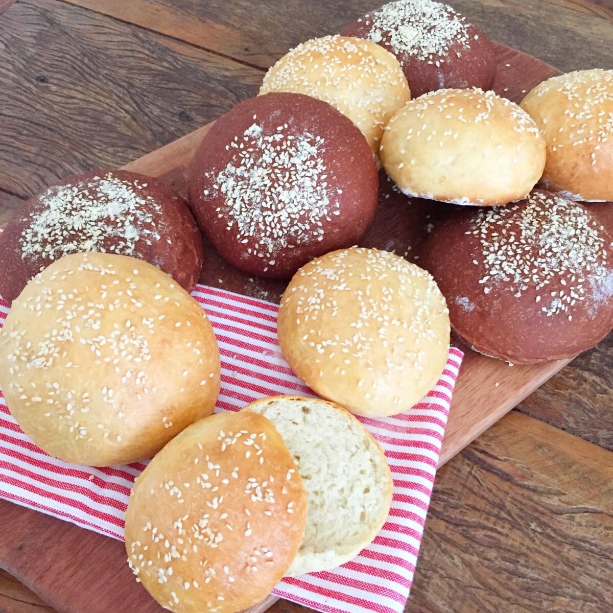 Pão Australiano de Hamburguer