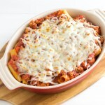 Baked Rigatoni in Meat Sauce