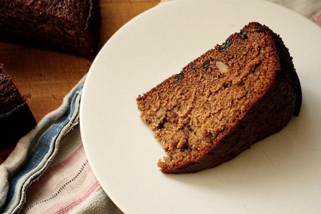Lekach, or Jewish honey cake