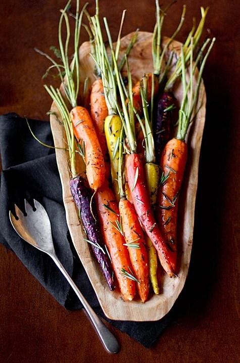 Un poco de beta-caroteno con romero.