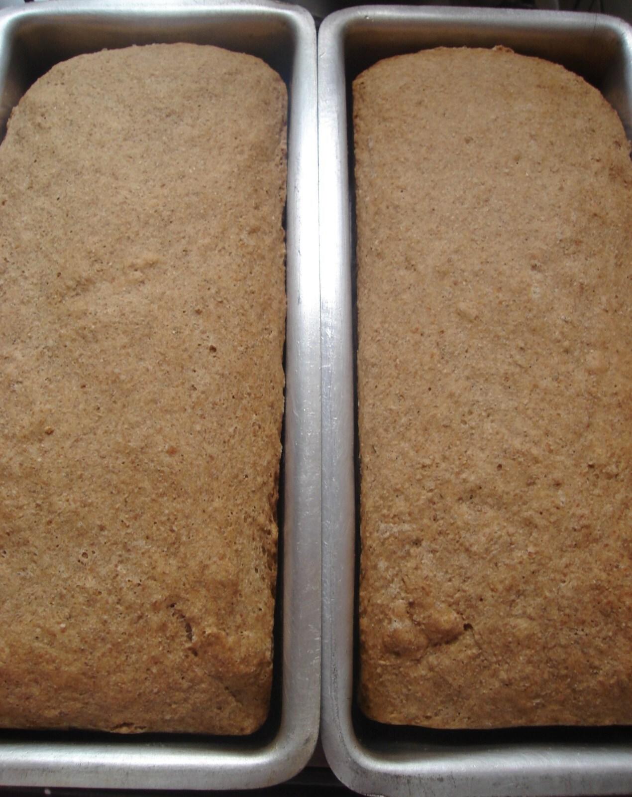 de pão integral com chia