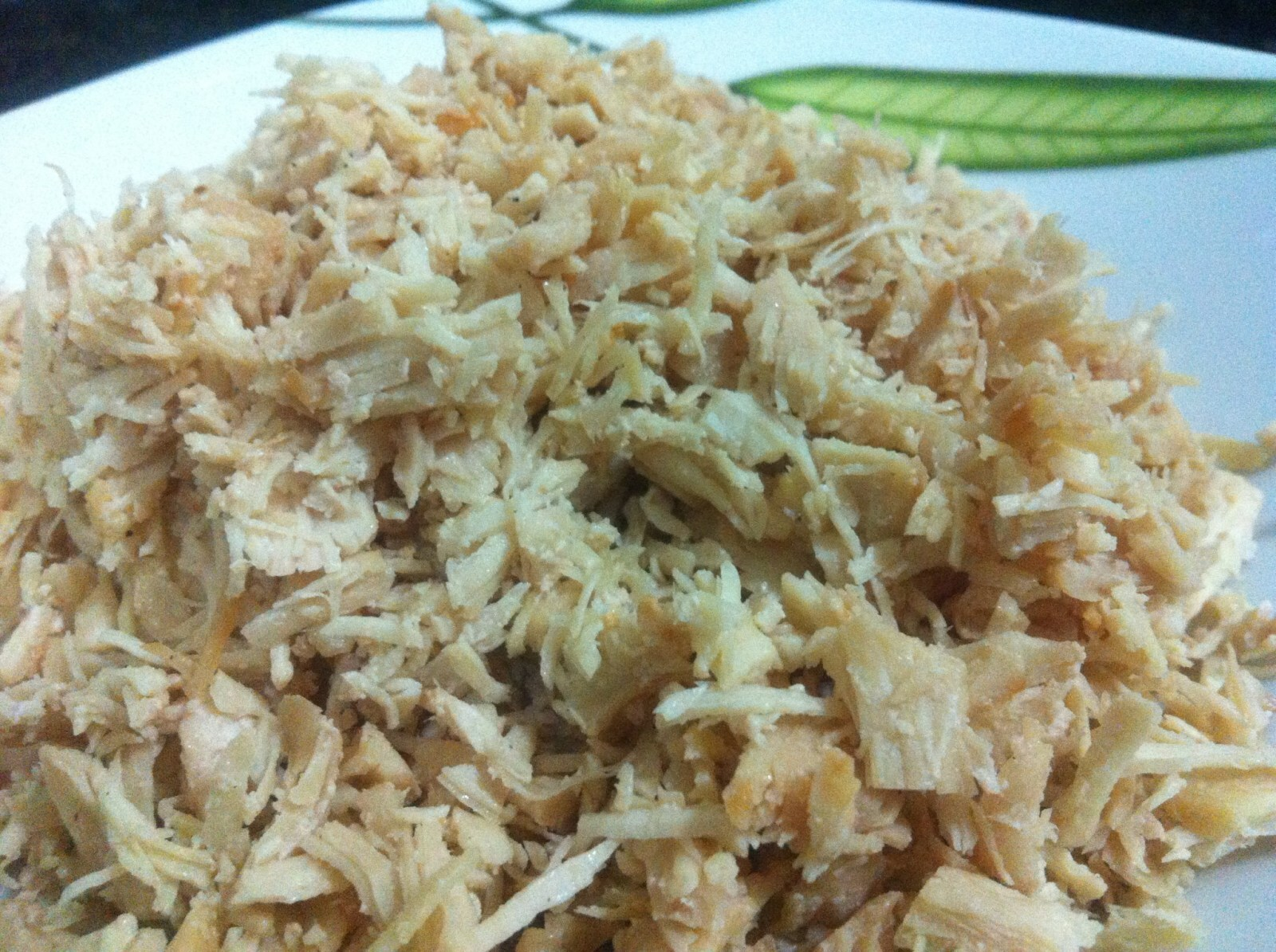 pasta de frango