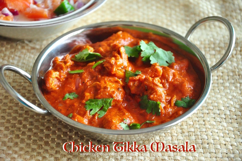 Chicken Tikka Masala – Simple and Delicious Recipe