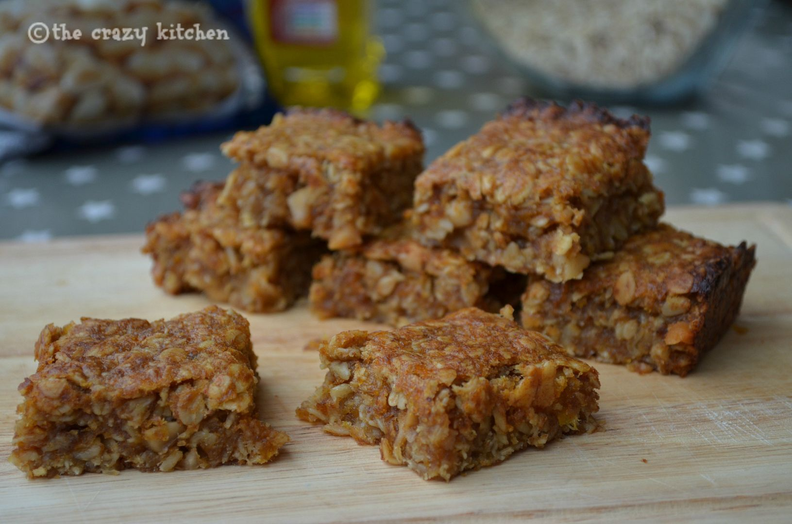 No Added Sugar Fruit & Nut Flapjacks