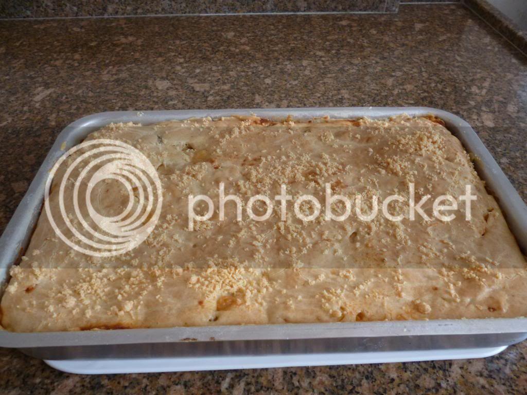 torta de camarão cremosa de liquidificador