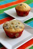 moist ube cupcake