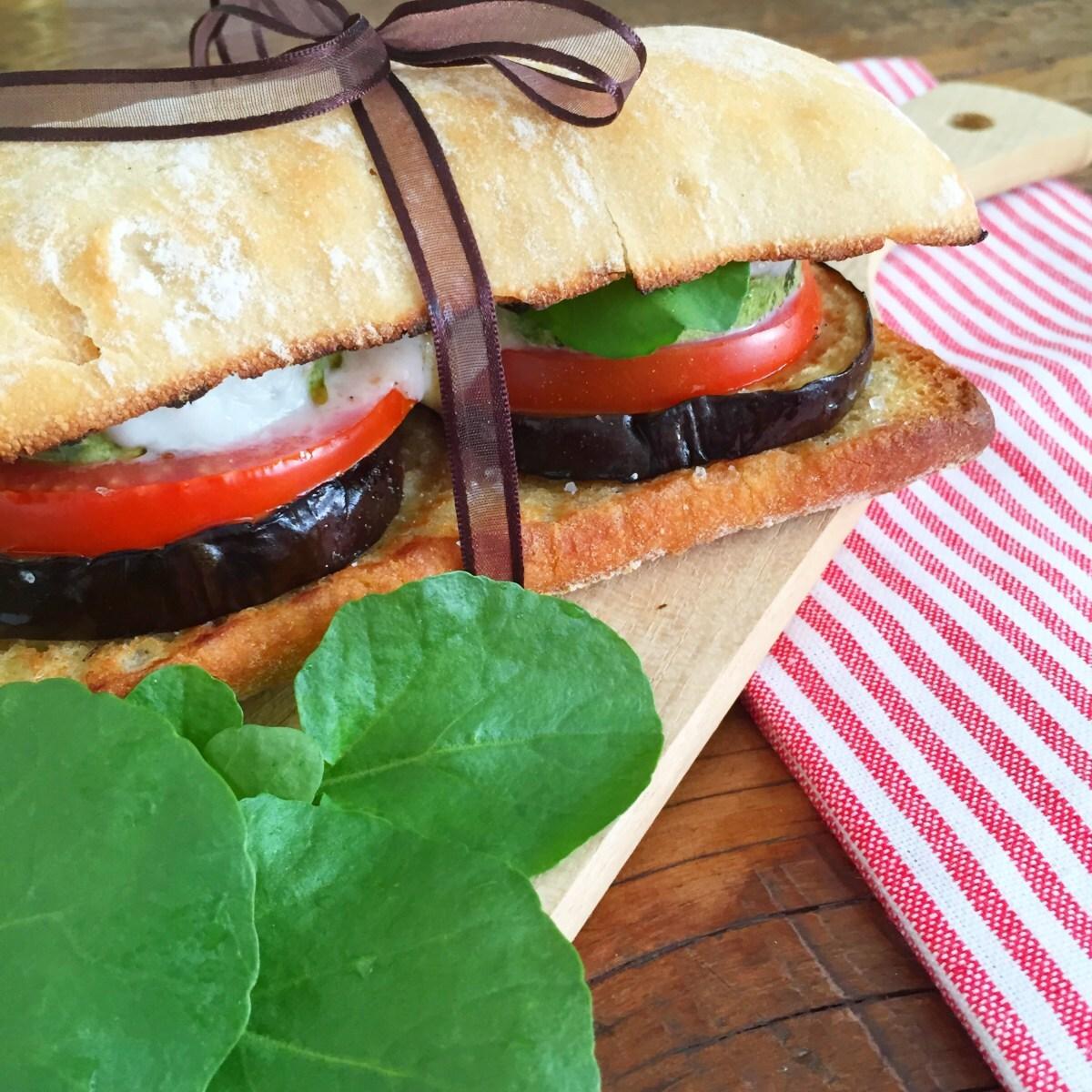 Sanduíche de Legumes Grelhados