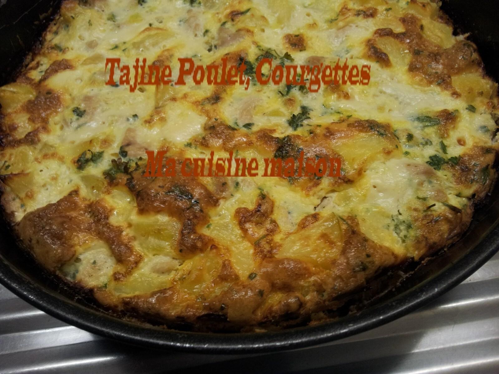 Tajine de Courgettes et Poulet D'Assia