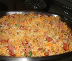 Farofa de arroz