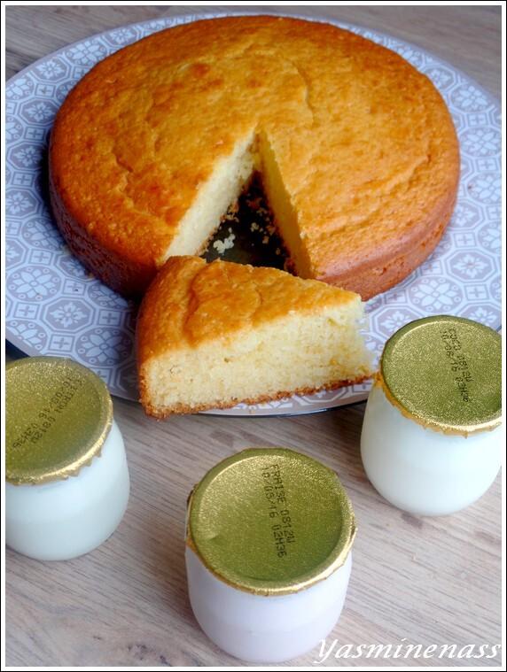 """Gâteau au yaourt ou """"The gâteau"""""""