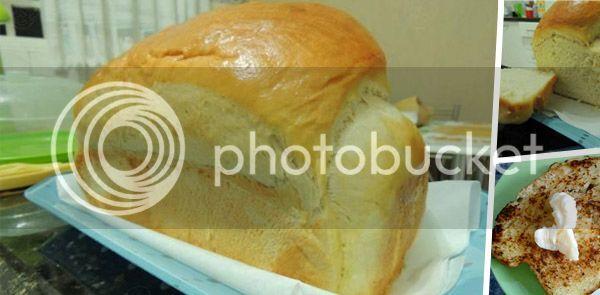 bolo salgado de salsicha com pao de forma
