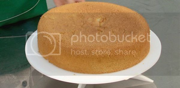 massa pão de ló profissional