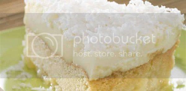 de bolo gelado de abacaxi com hortela