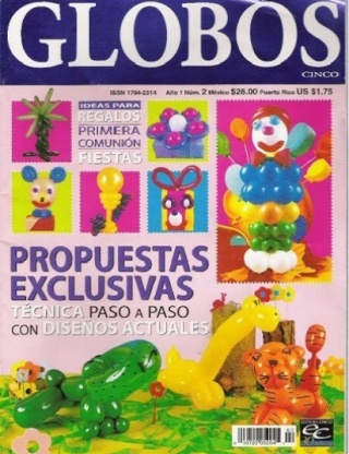Revista globos cinco n2