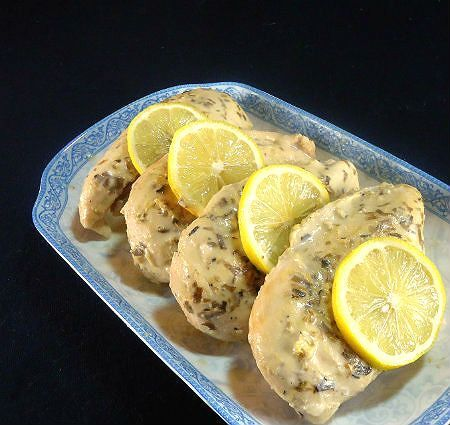 French Crock-Pot Lemon Chicken - Mijoté de Poulet au Citron
