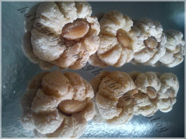 mlewza (petits fours aux amandes et citron)
