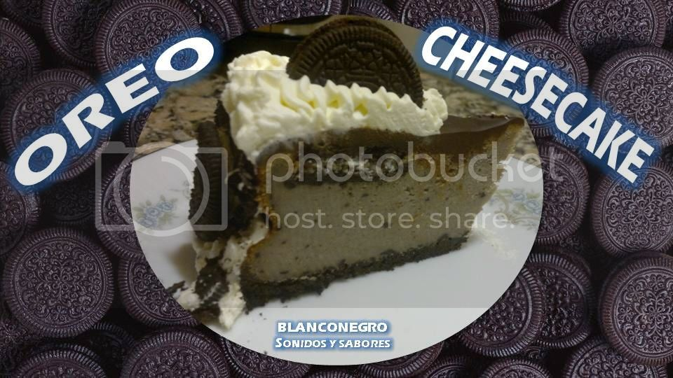 Oreo cheesecake [puro Oreo, versión de invierno]