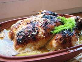 romertopf poulet