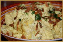 Chou- fleur au curry