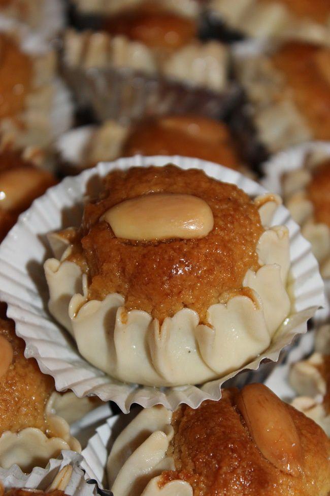 Dziriettes , Gateau Algérien aux amandes et miel
