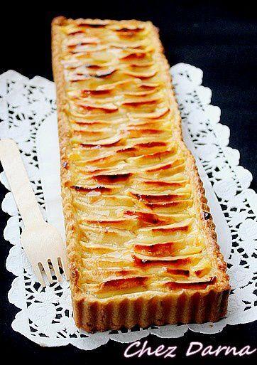 nappage tarte aux pommes sans gélatine