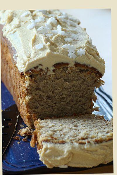 Cake à la banane glaçage caramel