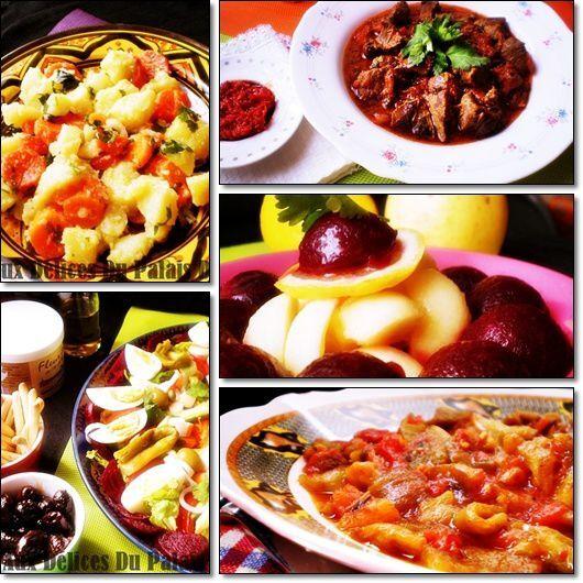 Salades & entrées d'été Facile / Ramadan 2014