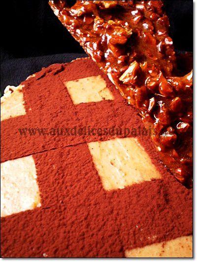 Gâteau Moka Praliné