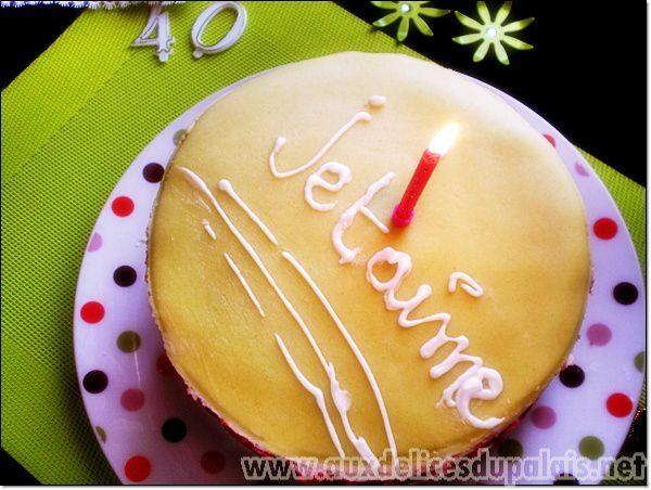 Gâteau d'anniversaire facile (Framboisier)