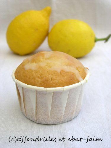 Gâteaux moelleux au yaourt et au citron