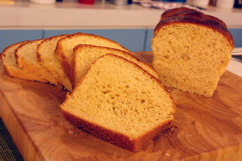 pão doce tipo brioche