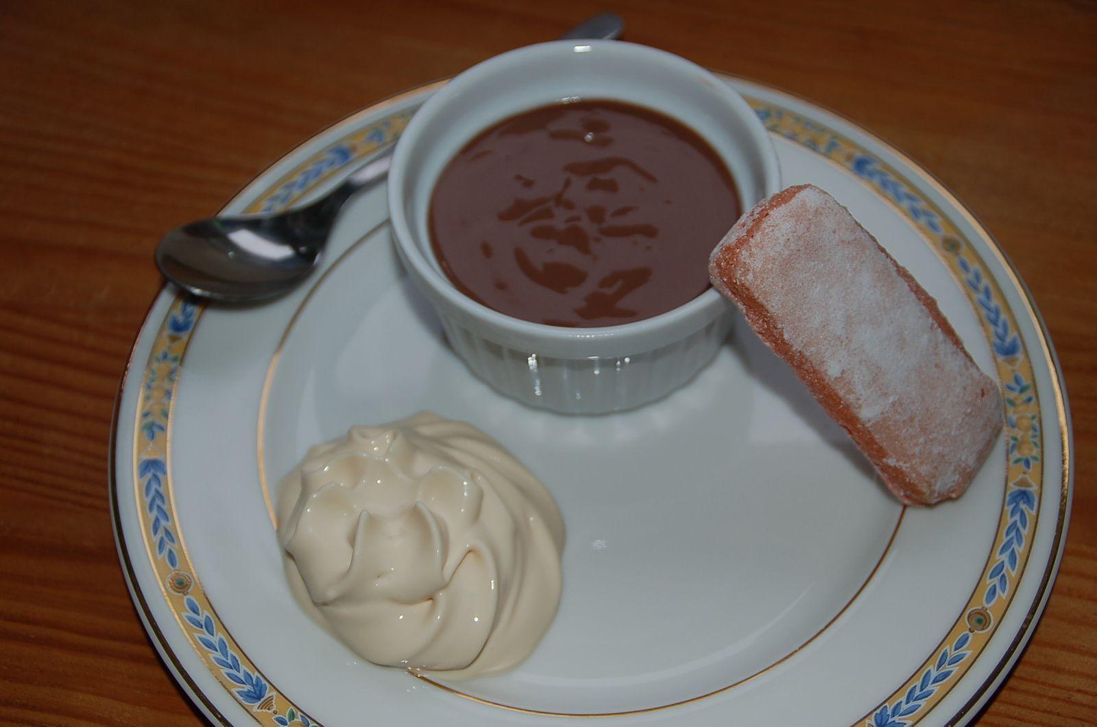 mousse au chocolat mascarpone au siphon
