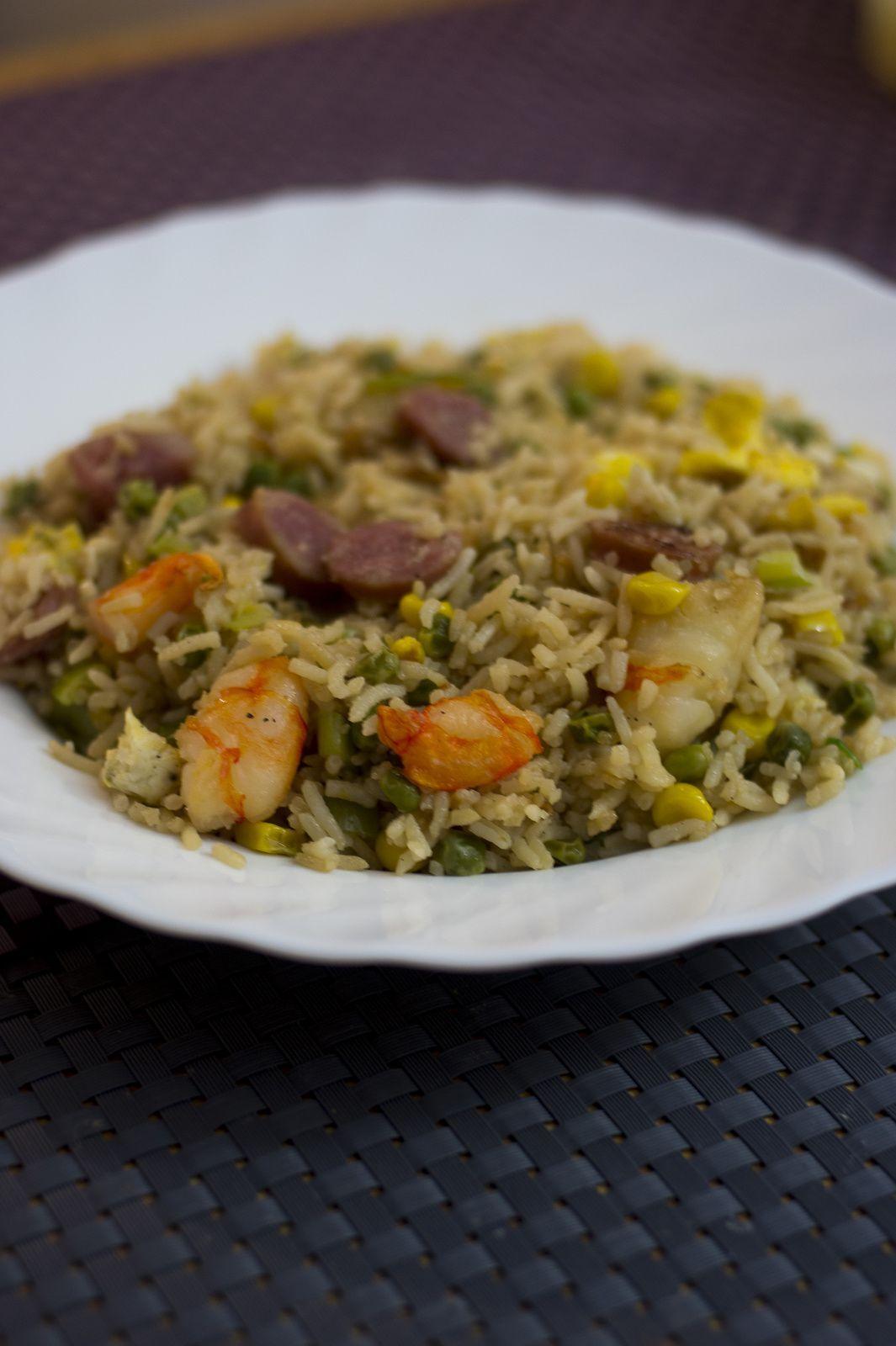 Riz Frit (du riz frire)