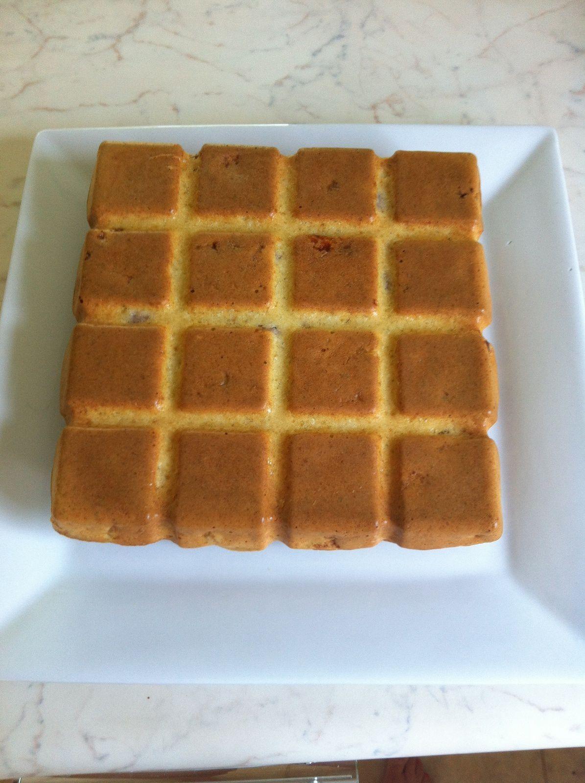 cake salé jambon gruyère (avec ou sans thermomix)