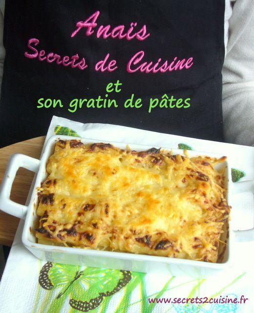 """Gratin de pâtes pour """"Cuisinons avec et pour les enfants"""" et mon partenaire Manelli"""