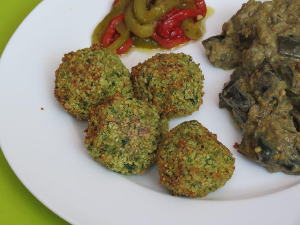Falafels (cuisson au four)