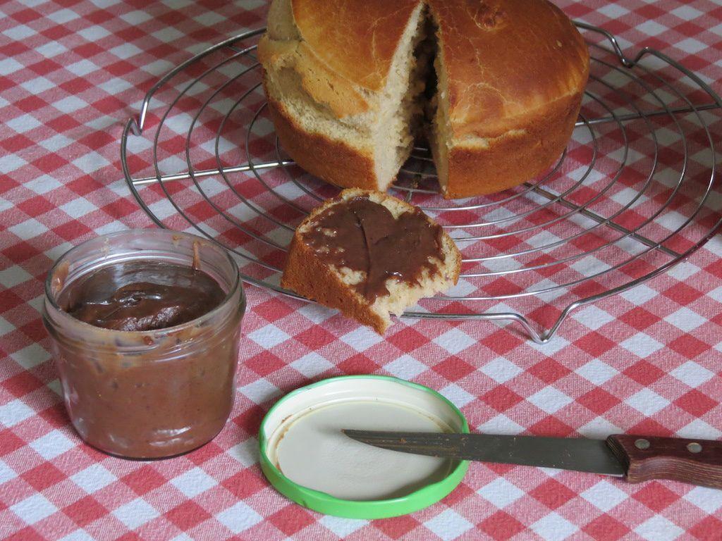 Pâte à tartiner au chocolat au lait