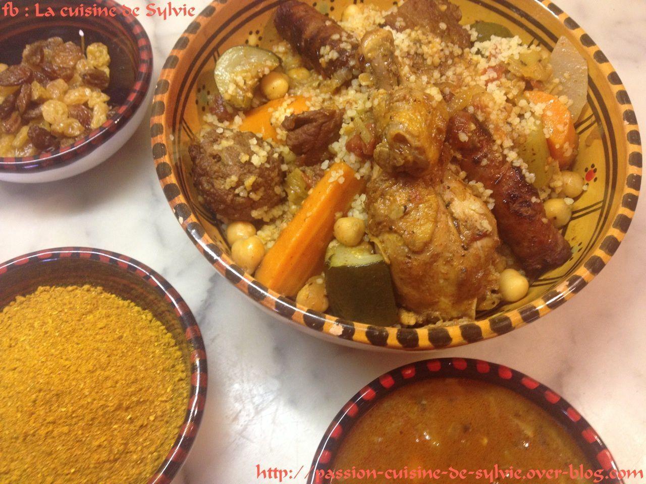 Couscous royal poulet agneau boulettes et merguez boeuf mouton