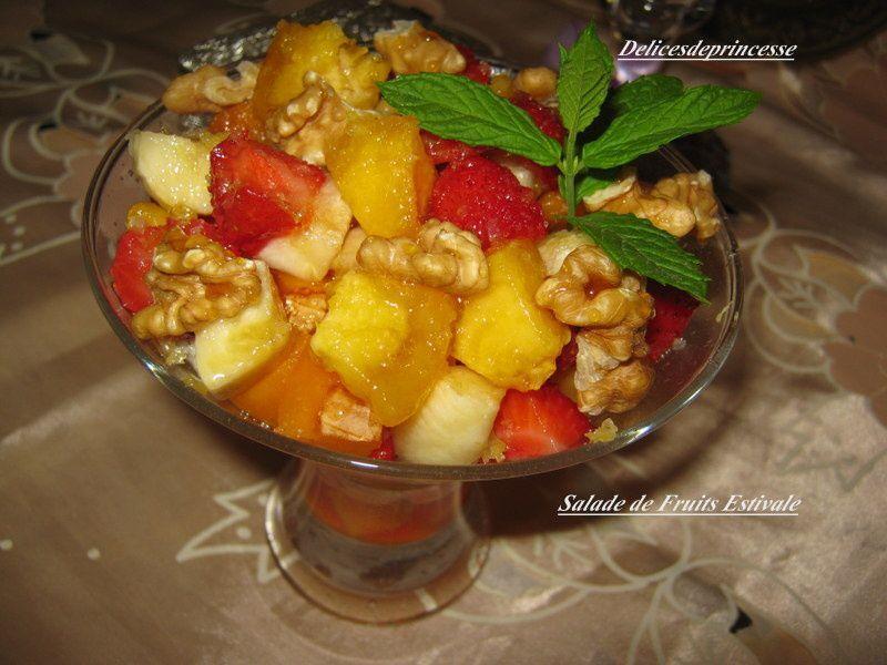 SALADE DE FRUITS ESTIVALE